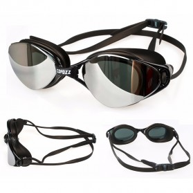 COPOZZ Kacamata Renang Anti Fog UV Protection - GOG-3550 - Black - 3