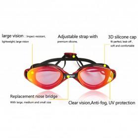 COPOZZ Kacamata Renang Anti Fog UV Protection - GOG-3550 - Sky Blue - 5