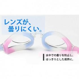 Kacamata Renang HD Profesional Anti Fog - LZ-913 - Black - 4