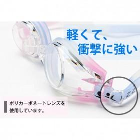 Kacamata Renang HD Profesional Anti Fog - LZ-913 - Black - 5