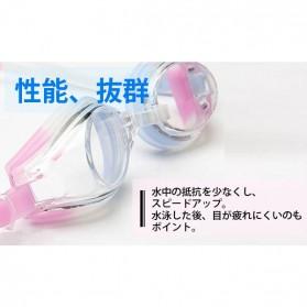 Kacamata Renang HD Profesional Anti Fog - LZ-913 - Blue - 6