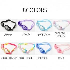 Kacamata Renang HD Profesional Anti Fog - LZ-913 - Blue - 7