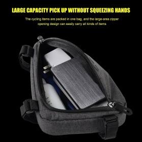 Tas Sepeda Serbaguna Triangle Frame Bag Pouch - ROS-12657 - Black - 5