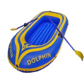 Dolphin Perahu Karet Inflatable Boat 2 Orang - 713 - Yellow