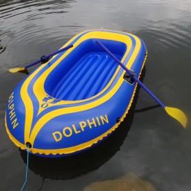 Dolphin Perahu Karet Inflatable Boat 2 Orang - 713 - Yellow - 3