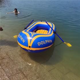 Dolphin Perahu Karet Inflatable Boat 2 Orang - 713 - Yellow - 5