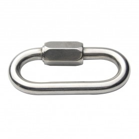 Xinda Karabiner Safety Lock Stainless Steel - XD-8619 - Silver