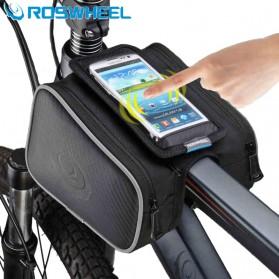 Roswheel Tas Sepeda Waterproof dengan Case Smartphone - Black