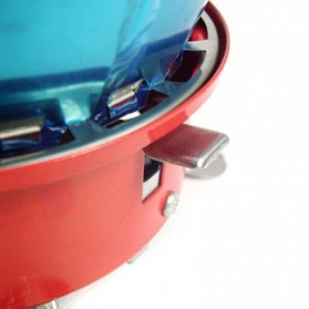 Kompor Gas Anti Angin Portable untuk Camping - K-203 - 2