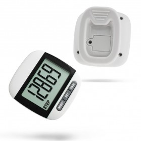 Pedometer - Pedometer Digital Multifungsi - Black