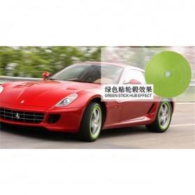 Stiker Reflektif Ban Mobil 8m - Green