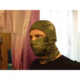 CISE Masker Motor Full Face Mask - W54 - Camouflage - 4