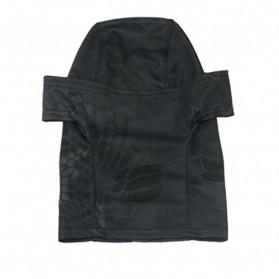 CISE Masker Motor Full Face Mask - W54 - Black - 3