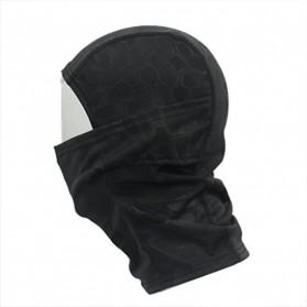 CISE Masker Motor Full Face Mask - W54 - Black - 4