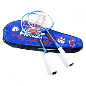 Regail Raket Badminton Anak 2 PCS - Blue - 1