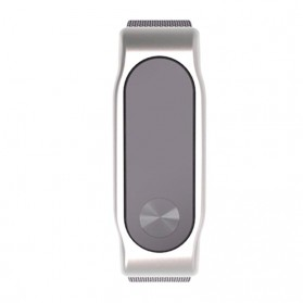 Gadget Media Player, Tablet , Smartphone, Power Bank, Laser Presenter - Watchband Milanese Stainless Steel Xiaomi Mi Band 2 (Replika 1:1) - Silver