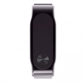 Watchband Milanese Stainless Steel Xiaomi Mi Band 2 (Replika 1:1) - Black - 4