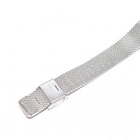 Watchband Milanese Stainless Steel Xiaomi Mi Band 2 (Replika 1:1) - Black - 6