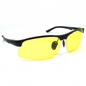 Kacamata Sepeda Lensa Mercury - Black/Yellow