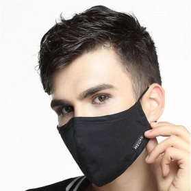 Wecan Masker Filter Anti Polusi Udara Protective Mask PM2.5 N95 - KN95 - Black - 4