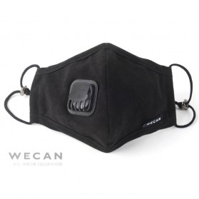 Wecan Masker Filter Anti Polusi Udara Protective Mask PM2.5 N95 - KN95 - Black - 7