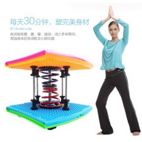 Papan Twister Spring Fitness Gym Yoga - Multi-Color - 4