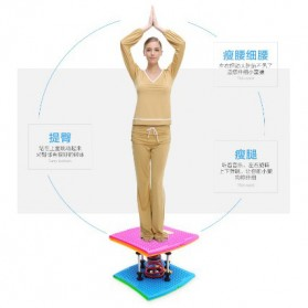 Papan Twister Spring Fitness Gym Yoga - Multi-Color - 5