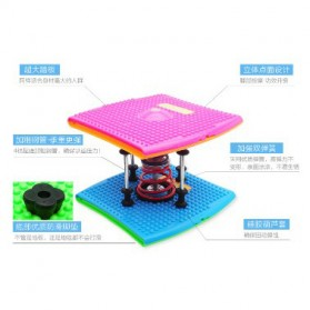 Papan Twister Spring Fitness Gym Yoga - Multi-Color - 6