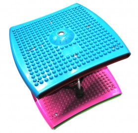 Papan Twister Spring Fitness Gym Yoga - Multi-Color - 8