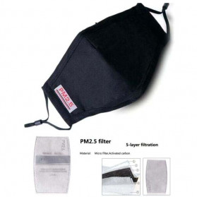 Masker Filter Anti Polusi HEPA PM2.5 N95 - Mix Color - 1