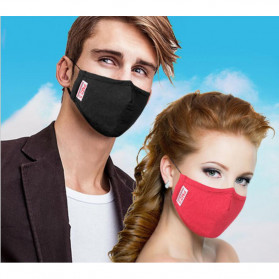 Masker Filter Anti Polusi HEPA PM2.5 N95 - Mix Color - 5