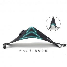 Masker Filter Anti Polusi Pria PM2.5 N95 - Black - 7