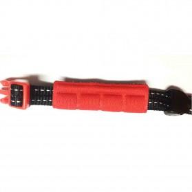 Locle Helm Sepeda - Red/Black - 5