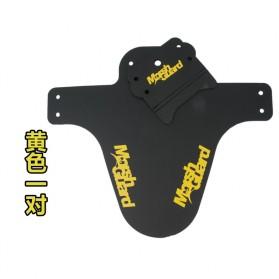 Mud Guard Spakbor Fender Sepeda - F1701G - Black - 6