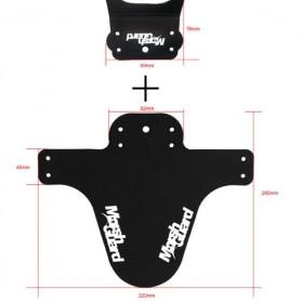 Mud Guard Spakbor Fender Sepeda - F1701G - Black - 8