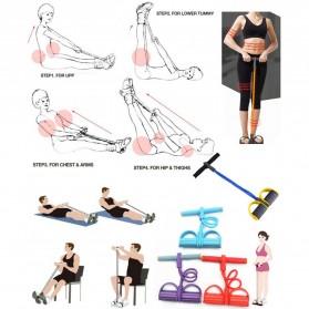 Alat Fitness Body Trimmer 50 x 25 x 25cm - Blue - 2