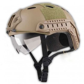 Helm Tactical Airsoft Gun - Brown - 1