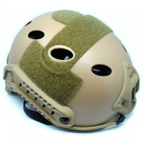Helm Tactical Airsoft Gun - Brown - 3