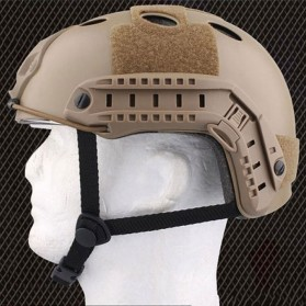 Helm Tactical Airsoft Gun - Brown - 4