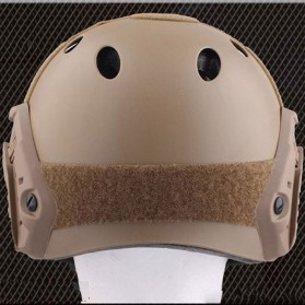 Helm Tactical Airsoft Gun - Brown - 5
