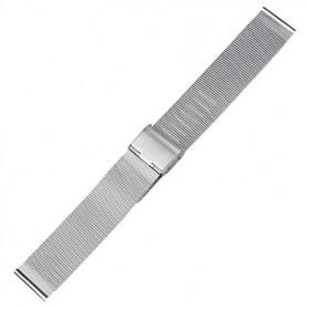 Strap Jam Tangan Milanese Stainless Steel 18mm - Silver - 1