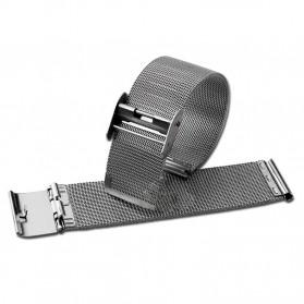 Strap Jam Tangan Milanese Stainless Steel 18mm - Silver - 2