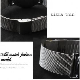 Strap Jam Tangan Milanese Stainless Steel 18mm - Silver - 3
