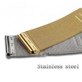 Strap Jam Tangan Milanese Stainless Steel 18mm - Silver - 4