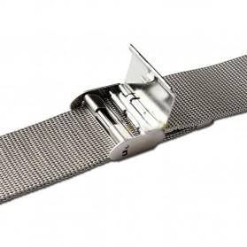 Strap Jam Tangan Milanese Stainless Steel 18mm - Silver - 5
