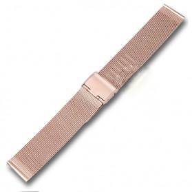 Strap Jam Tangan Milanese Stainless Steel 18mm - Rose Gold - 1