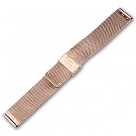 Strap Jam Tangan Milanese Stainless Steel 18mm - Rose Gold - 2