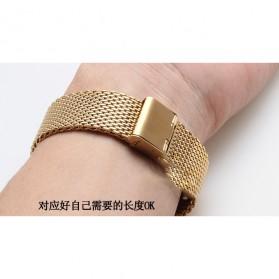 Strap Jam Tangan Milanese Stainless Steel 18mm - Rose Gold - 9