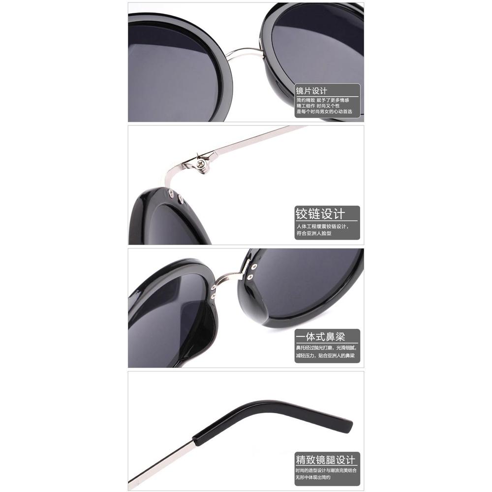 Kacamata Bulat Klasik Black Lenon Metal 4