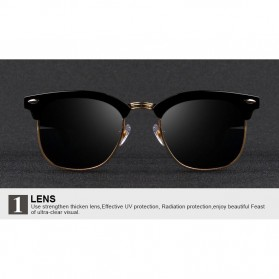 Kacamata Mirror Polarized - Golden - 4